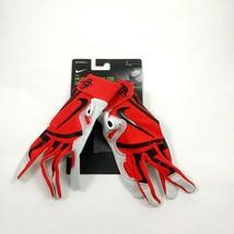 New Nike Huarache Elite Georgia Bulldogs Baseball Batting Gloves Size Small - $35.14