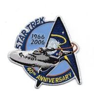 Star Trek 40th Anniversary 1966-2006 Classic TV Enterprise Embroidered P... - $7.84