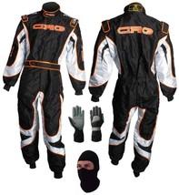 CRG Go Kart Race Suit CIK/FIA Level 2 gift Gloves & balaclava - $160.99