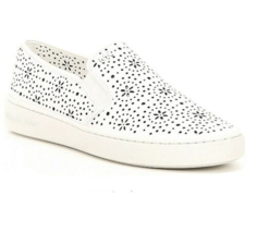 MICHAEL Michael Kors Kane Perforated Slip-On Sneakers Size 8.5 - £62.97 GBP