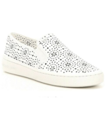 MICHAEL Michael Kors Kane Perforated Slip-On Sneakers Size 8.5 - $89.09