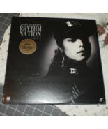 Janet Jackson RHYTHM NATION 1814 laserdisc sealed notch cut  - $49.95