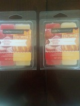 Luminessence Scented Wax Melts Set Of 2 Frosted Sugar Plums And Champagn... - $15.72