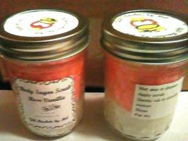 Handmade All Natural Scented Sea Salt Scrub 8 0z 1 cup size with free sh... - $14.99