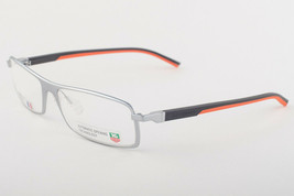 Tag Heuer 801 009 Automatic Dark Gray Orange Eyeglasses TH801-009 56mm - $224.42