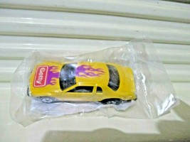 Mattel Hot Wheels 1990 GETTY GAS PROMO YELLOW THUNDERBURNER Car New in P... - $6.92