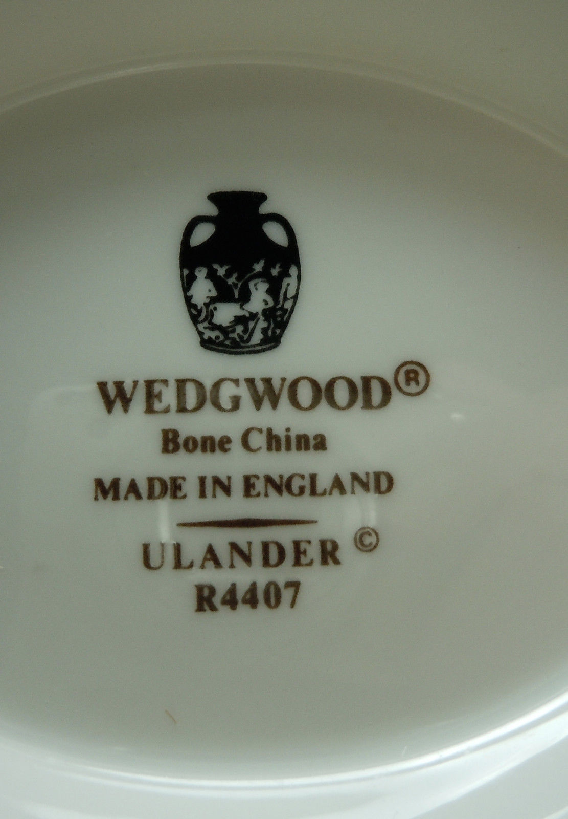 Wedgwood Ulander Black Cup and Saucer Set