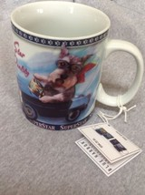 Coffee Mug Fox TerrierCeramic Superstar Travel Dogs - $16.78