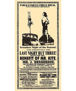 Being For The Benefit of Mr. Kite Poster 11x17 Beatles Sgt. Pepper's Joh... - $19.99