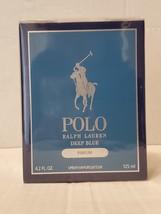 Ralph Lauren - Polo Deep Blue Parfum For Men - Spray 4.2 Oz New In Box Sealed. - $81.99
