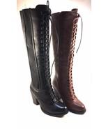 Pierre Dumas Denny-16 Thick Heel Knee High Boots Choose Sz/Color - $38.40