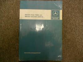 1986 MERCEDES BENZ Model 124.030 300 E Service Shop Manual FACTORY OEM B... - $138.55
