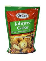 Grace Johnny Cake Fried Dumplings Mix Caribbean Homemade Makes 13 Cakes 9.5 Oz - $9.20