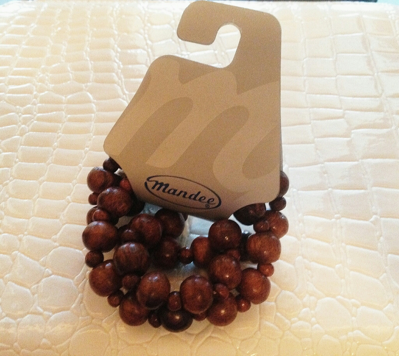 Wood Beads Stretch Bracelet Set Gift