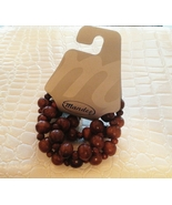 Wood Beads Stretch Bracelet Set Gift - $0.00