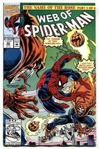 Web Of Spider-man #86 comic book Marvel-First Demogoblin - $27.74
