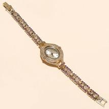 Real Purple Zircon , White Topaz Watch 925 Sterling Silver Women Wedding... - $43.40