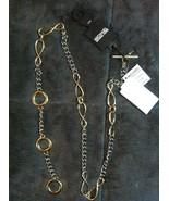 Michael Kors Femmes Neuf 2 Tons Ceinture Taille: S/M Longueur : 39 1/2 - $47.84