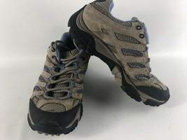 Merrell Bungee Cord Women's Size 6 Mid Waterproof Continuum Hiking Boots Brown - $19.98