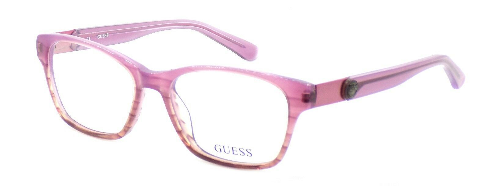 Primary image for GUESS GU2356 RO Women's Eyeglasses Frames Plastic 52-16-140 Rose Pink + Case