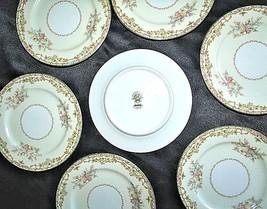 Noritake China Nana Rosa Pattern # 682Dessert Plates AB 336-C Vintage