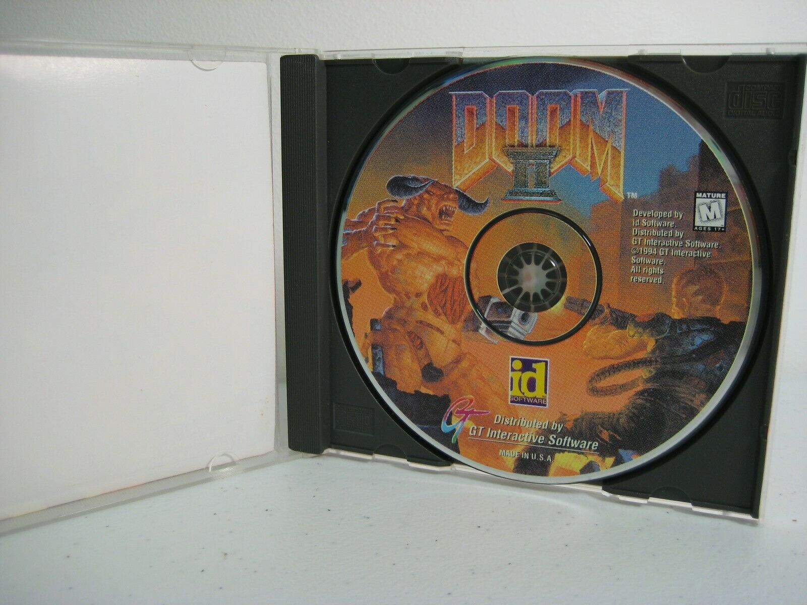 Doom II - Hell On Earth 1994 PC CD Game image 3