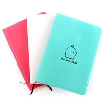 2018-2019 Diary Cute Notebook Cartoon Molang Rabbit Journal Planner Note... - $10.90