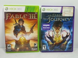 Fable III 3 & Fable Journey Xbox 360 Video Game Lot Journey Requires Kinect - $10.93