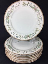 Faberware Dinner Plates Fine China Wellesley Floral Porcelain Round 1 Pcs  - $16.69