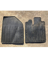 2011 2012 2013 2014  Edge OEM Ford Black Rubber All Weather Floor Mats - $29.69