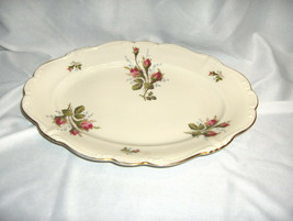 """Vintage Rosenthal China Pompadour Selb Germany 11 3/8""""  Pink Rose Tray NICE - $54.45"""