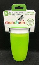 Munchkin Miracle 360° Spill-Proof Cup - 10oz (Dentist Recommended) Green  - $9.49