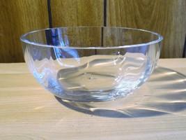 "Lenox Optika 5"" Clear Round Bowl - $17.75"