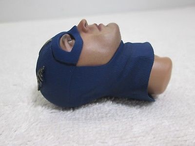 Captain America Head Sculpt 1/6th Scale Star Spangled Man MMS 205 - Hot Toys