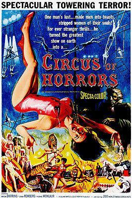 Primary image for Circus of Horrors - 1960 - Movie Poster