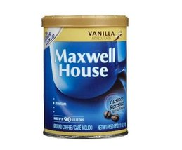 Maxwell House Vanilla Flavored Ground Coffee - 1- 11 oz. can - $9.79