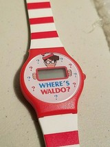 Wheres Waldo Wrist Watch With Instructions Needs Battery Vintage 1990s - $9.99
