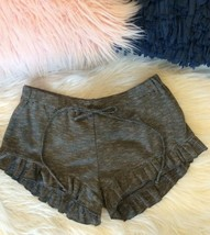Shorts Boutique Bloomer Ruffle Hem Womens Small Elastic Waist Mint Condi... - $19.99