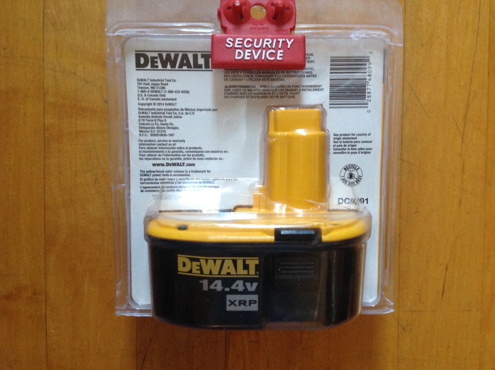 DeWALT DC9091 14.4V 2.4 Amp Hour XRP Cordless Tool Rechargeable Battery New image 6