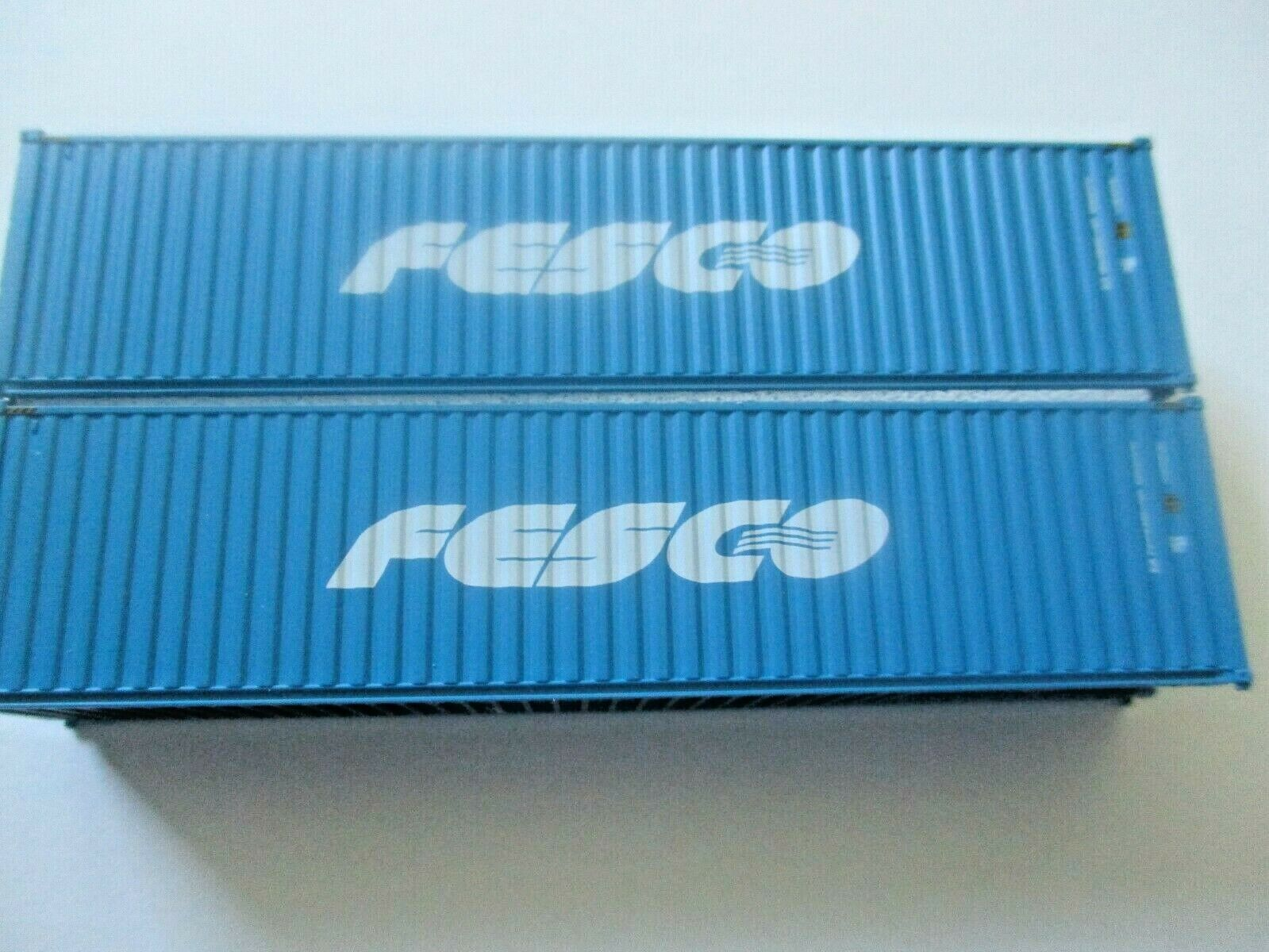 Jacksonville Terminal Company # 405087 FESCO 40' High-Cube Containers (N)
