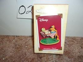 Hallmark Keepsake Ornament Disney Pluto Sneaking A Treat! 2004 - $24.99