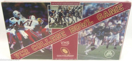 CFA VCR VHS TV College Football Bowl Game New Sealed Licensed Game Vinta... - $9.89
