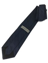 "New Kenneth Cole Collection Silk Tie Blue, Black Designer 59"" - $13.95"