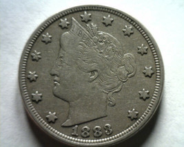 1883 NO CENTS LIBERTY NICKEL VERY FINE / EXTRA FINE VF/XF VF/EF NICE ORI... - $11.00