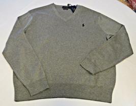 Polo Ralph Lauren Jersey Pulóver V Camisa Cuello XL Hombre 710519450015 Beige - $53.58