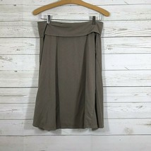 Gap Fold over Skirt Size Small Petite Light Brown - $11.87