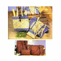 McCall's Patterns M3693 Duffle Bags, Make-Up Case, Tote Bag and Eyeglass Case, O - $17.63