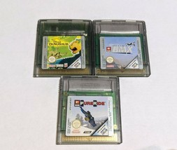 Gameboy Color / Colour Games Bundle , Disney Dinosaur, Ultimate BMX, Pur... - $11.80