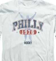 Philly Rocky 1976 Philadelphia Boxing Movie retro long sleeve graphic tee MGM151 image 2
