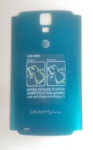 New OEM Samsung Galaxy S4 Active i537 Battery Door Back Cover - AT&T - Blue - $12.86